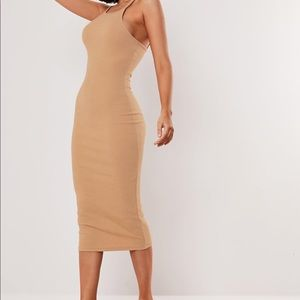 Missguided Tan Dress